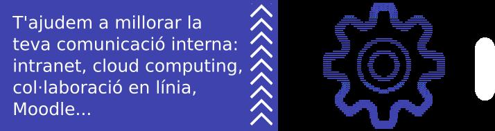 T'ajudem a millorar la teva comunicació interna: intranet, cloud computing, col·laboració en línia, Moodle...